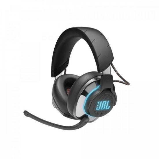 Headset Gamer Bluetooth RGB Quantum 800 Preto JBL