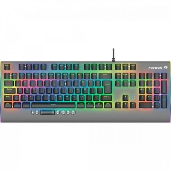 Teclado Gamer Mecânico RGB CRUISER Dark Grey FORTREK
