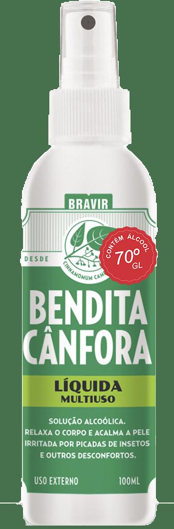 Bendita Cânfora Líquida Spray 100ml
