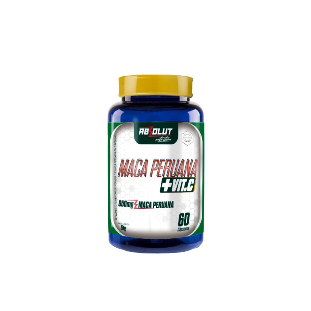 Maca Peruana + Vitamina C 60 cápsulas