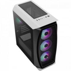 Gabinete Gamer Mini Tower Aero One Mini Frost Branco AEROCOOL
